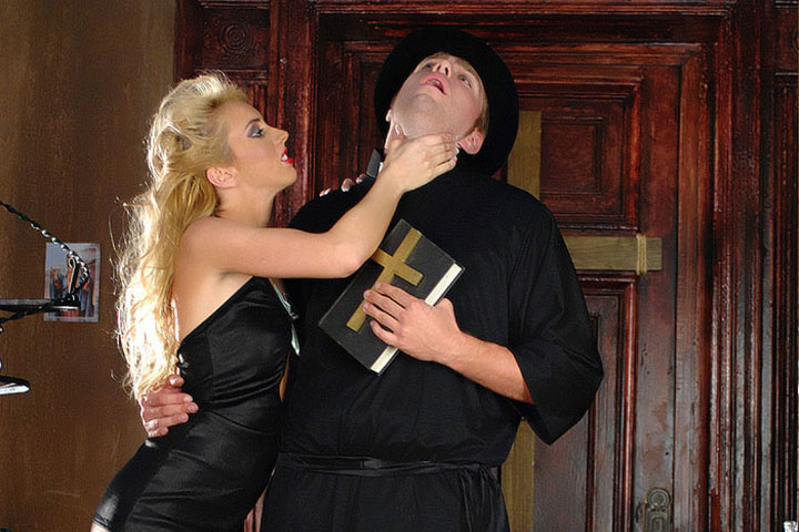 Satanic Sex Nuns dominating priests thumbnail